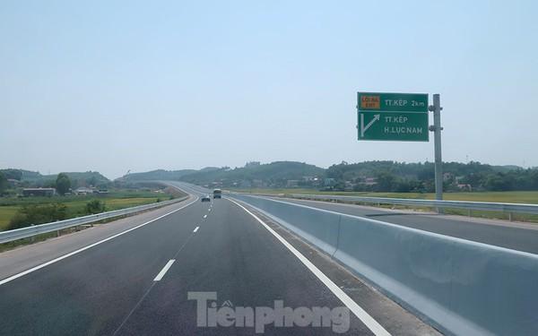 Thông xe cao tốc, Hà Nội đi Lạng Sơn giảm 1 tiếng đồng hồ