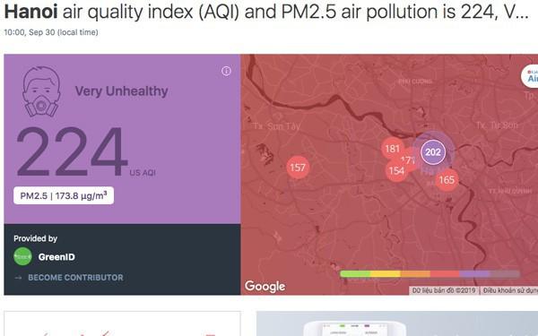 Cảnh báo ô nhiễm Hà Nội lên mức tím, những ai không nên ra đường