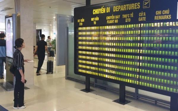 Từ hôm nay 1/10, ngưng phát thanh tại sân bay Tân Sơn Nhất