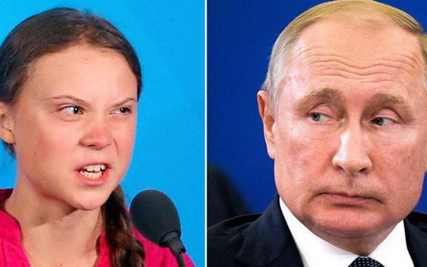 """Tổng thống Nga Putin nói về bài phát biểu của Greta Thunberg: """"Đi mà nói điều đó với các nước đang phát triển"""""""