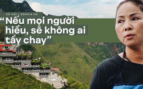 """Bà chủ Mã Pì Lèng Panorama: """"Nếu như công trình bị thu hồi, tôi chỉ còn nước nhảy xuống sông Nho Quế"""""""