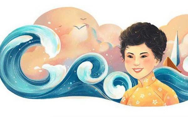 Thêm một danh nhân Việt được tôn vinh trên Google Doodle: Nhà thơ Xuân Quỳnh