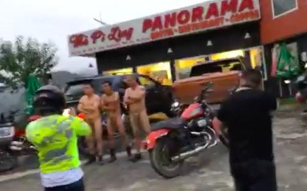 Hiếu Orion cùng 3 người đàn ông khoả thân, chạy xe máy tới khách sạn 7 tầng trên đèo Mã Pì Lèng