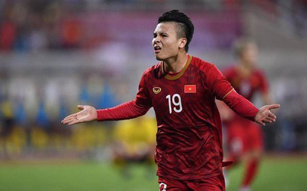 [Vòng loại World Cup 2022] Việt Nam 1-0 Malaysia (H2): Quang Hải lập siêu phẩm ngả người volley