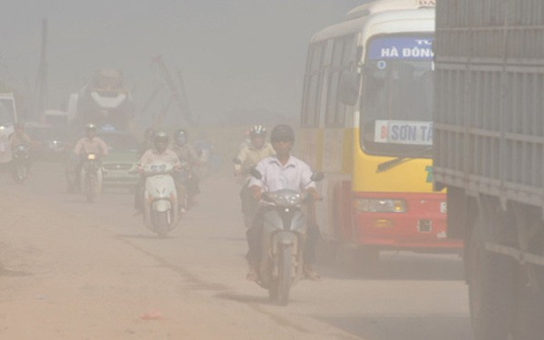 Kiểm tra báo cáo 2019 về ô nhiễm của Hà Nội dùng số liệu 2005