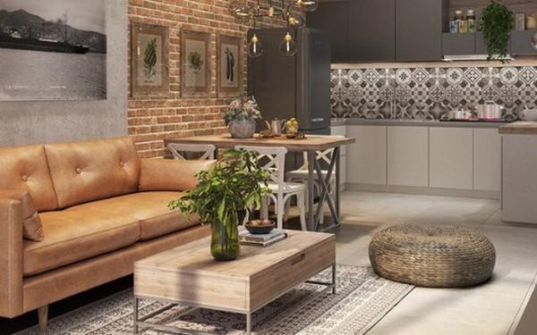 Làm đẹp căn hộ nhỏ 25m2 với cách sắp xếp nội thất thông minh - 1