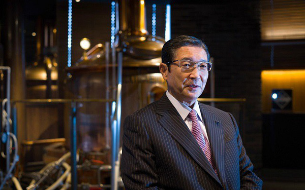 """""""Ông trùm"""" M&A Nhật Bản và tham vọng xây dựng đế chế bia nổi tiếng thế giới"""