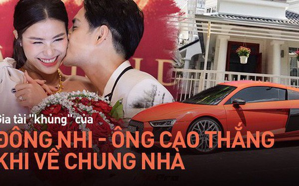 """Đông Nhi - Ông Cao Thắng về chung một nhà sẽ tạo thành gia đình siêu giàu Vbiz với khối tài sản """"siêu to khổng lồ"""""""