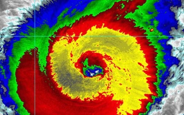 """Siêu bão """"quái vật"""" Hạ Long, mạnh bậc nhất lịch sử vệ tinh thời tiết"""