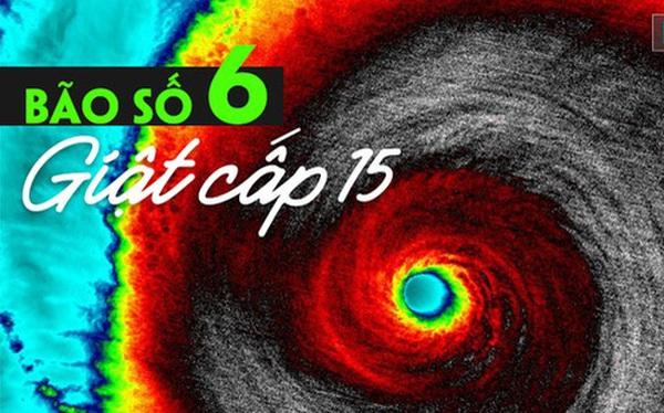 Bão số 6 gia tăng sức mạnh, xuất hiện điểm dị thường chung của 1 trận bão dữ dội
