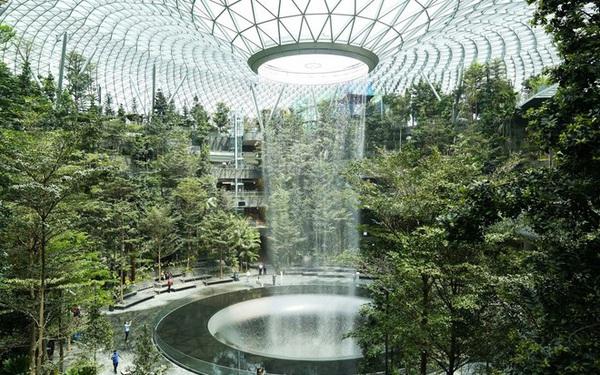 Thiết kế độc lạ của nhà ga sân bay Changi Singapore bị 'tố' đạo ý tưởng