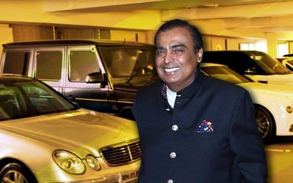 """Bộ sưu tập siêu xe """"khủng"""" của gia đình giàu nhất châu Á"""