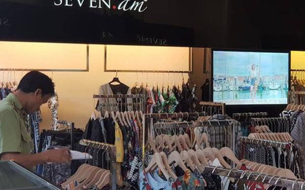 Tạm giữ 9.000 sản phẩm chưa rõ nguồn gốc xuất xứ của SEVEN.am