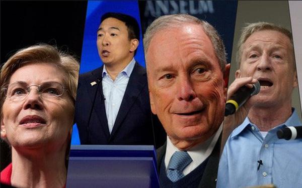 Chênh lệch giàu nghèo hàng chục lần của các ứng viên tổng thống Mỹ