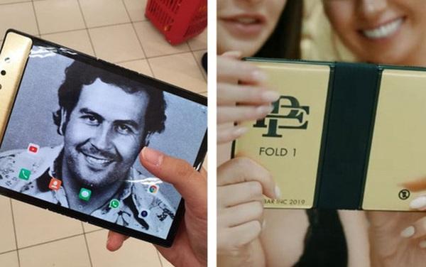 Anh trai trùm ma túy khét tiếng Pablo Escobar ra mắt smartphone màn hình gập giá siêu rẻ, thề sẽ cạnh tranh 'khô máu' với Apple