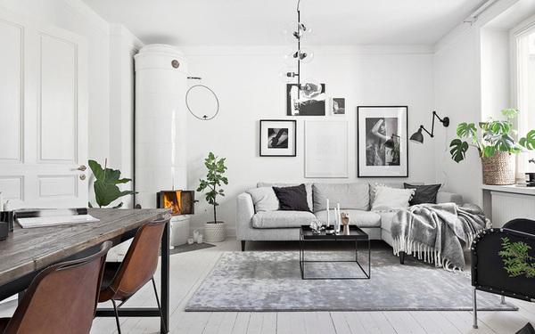 Học cách bài trí nhà đẹp lại rộng thênh thang như căn hộ màu trắng rộng 62m² dưới đây
