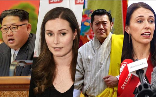 10 nhà lãnh đạo trẻ nhất thế giới