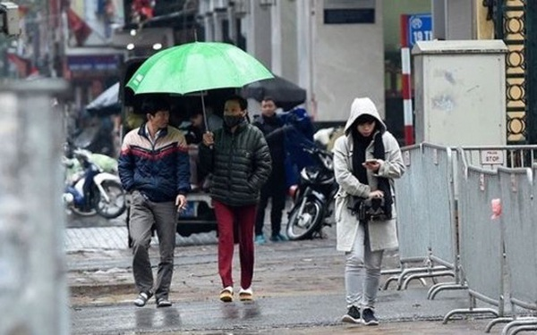 Không khí lạnh tràn về, miền Bắc chuyển mưa