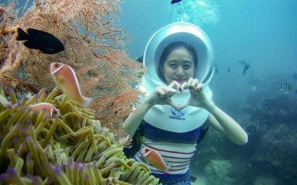 """Màn """"rút ví"""" của Shark Việt đầu năm mới khiến du lịch Phú Quốc thêm nóng: Đầu tư vào DN cung ứng dịch vụ """"Đi bộ dưới đáy đại dương"""""""