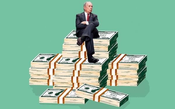 Vung tiền tranh cử nhiều hơn cả Tổng thống Trump, tỷ phú Bloomberg đang khiến đối thủ khó chịu vì chiến dịch vận động sang chảnh của mình
