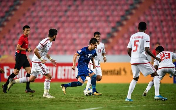 """Rắp tâm chơi """"nhây"""", đá xấu khiến U23 Việt Nam bị loại, tuyển UAE dính ngay quả báo, thua đậm không thể tin nổi tại tứ kết giải U23 châu Á"""