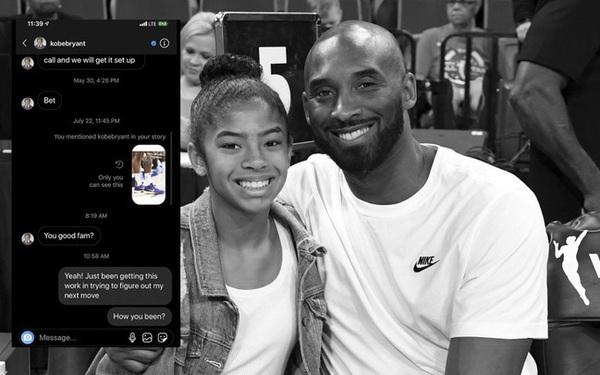 Tiết lộ những dòng tin nhắn cuối cùng từ huyền thoại bóng rổ Kobe Bryant trước khi qua đời thương tâm vì tai nạn trực thăng