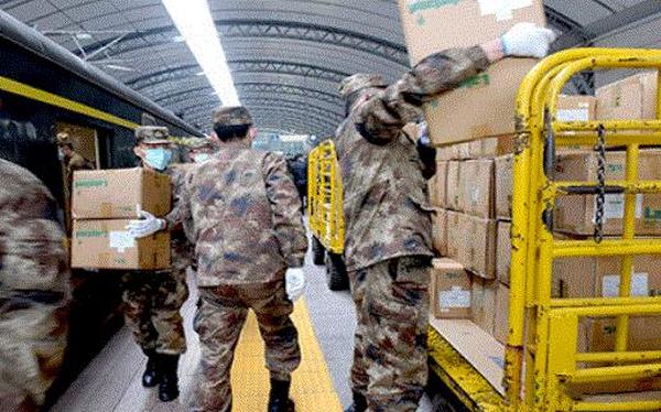 Chủ tịch Tập Cận Bình kêu gọi quân đội tham gia chống dịch corona