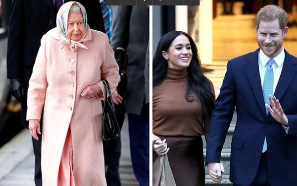 Nữ hoàng sốc toàn tập, cả hoàng gia Anh lao đao vì vợ chồng Meghan quyết định rời khỏi gia đình mà không hề thông báo trước