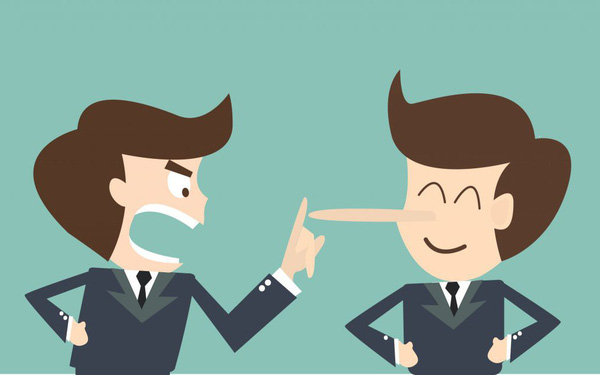 Sếp của bạn không thăng tiến bằng sự ngốc nghếch, bởi vậy đừng nói dối ông ta!