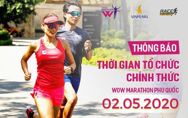 Wow Marathon Phú Quốc 2020 công bố thời gian tổ chức chính thức