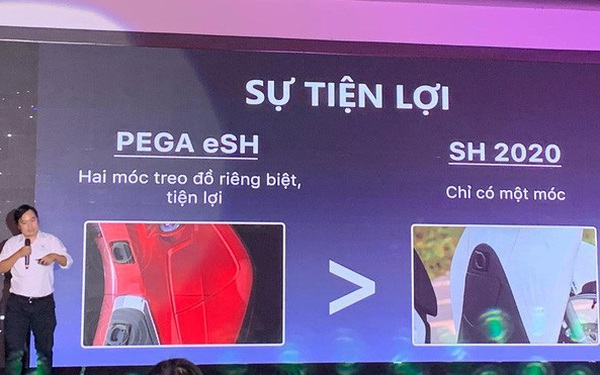 """Honda dọa kiện vì """"con cưng"""" SH bị dìm hàng trực diện với xe điện eSH, CEO Pega phản pháo: So sánh là chuyện bình thường, mong Pega và Honda trở thành bạn như Messi và Ronaldo!"""