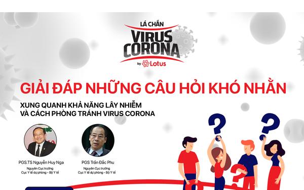 Giải đáp những câu hỏi khó nhằn xung quanh khả năng lây nhiễm và cách phòng tránh virus Corona