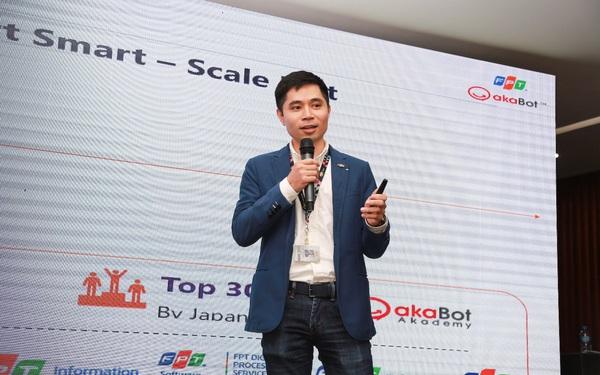 Giải pháp chuyển đổi số Tự động hoá quy trình doanh nghiệp giành 140 triệu giải thưởng sáng tạo của FPT