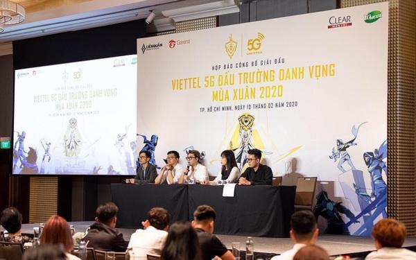 Công bố giải chuyên nghiệp Liên Quân Mobile Viettel 5G đấu trường danh vọng mùa xuân 2020