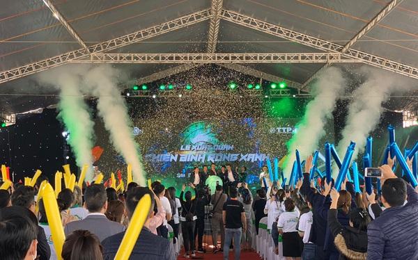 """Tưng bừng khí thế """"chiến binh Rồng xanh"""" cùng lễ kick-off dự án Green Dragon City"""