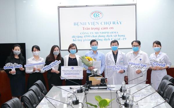 Mundipharma đồng hành cùng nhân viên y tế phòng chống Covid-19