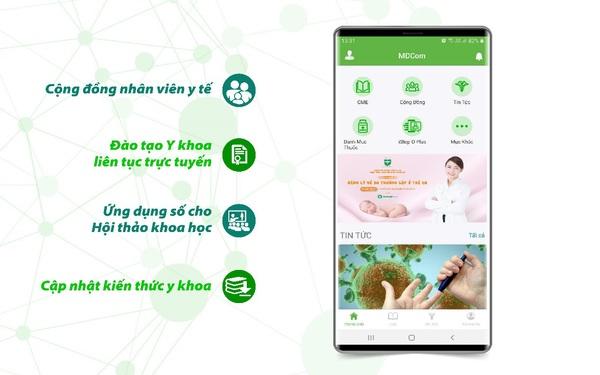 Cơ hội mới từ MXH tiên phong tại Việt Nam dành cho nhân viên y tế
