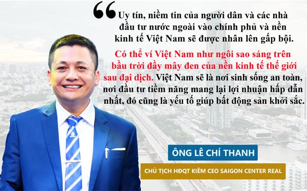 Saigon Center Real ủng hộ 200 triệu đồng & đưa ra bức tranh thị trường BĐS sau đại dịch covid 19