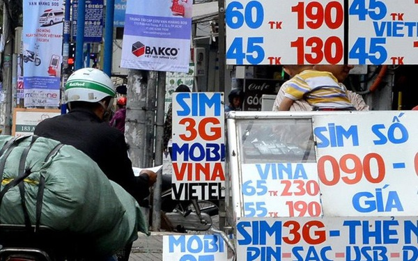 Siết SIM kích hoạt sẵn, thị trường giảm 6 triệu thuê bao di động