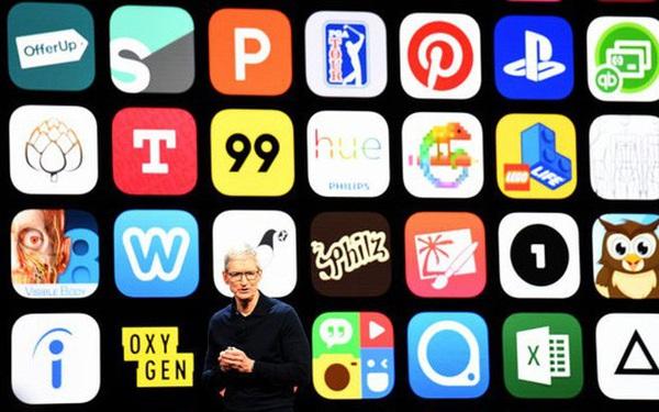 """Apple đang """"hốt bạc"""" từ bán ứng dụng trên App Store"""