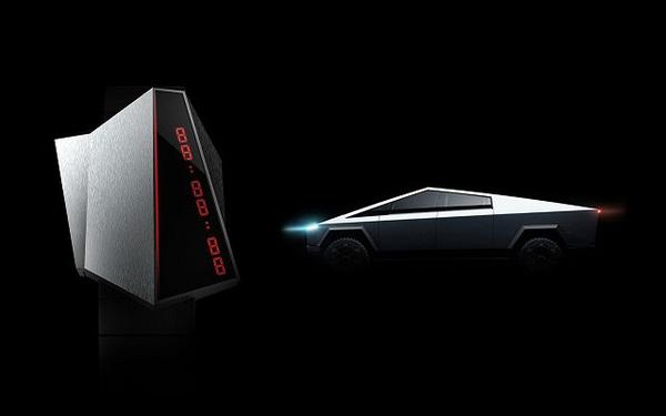 Cybertime - mẫu đồng hồ lấy cảm hứng từ Tesla Cybertruck