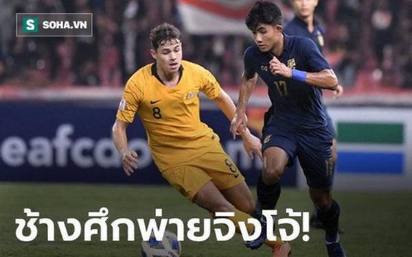 Báo Thái Lan thất vọng tràn trề, lo sợ kịch bản bị loại sớm sau trận thua đau Australia