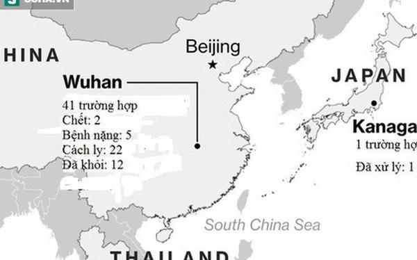 Thêm một người chết vì virus gây bệnh viêm phổi lạ ở Trung Quốc