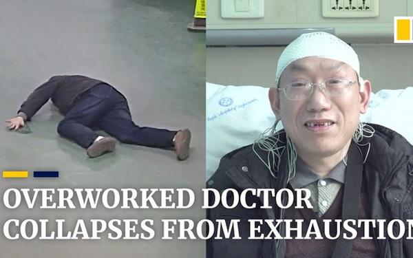 Làm việc quá sức, một bác sĩ liên tục ngã dúi dụi đến mức gãy cả răng, chấn thương đầu và bất tỉnh suốt 5 phút