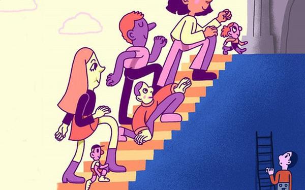 Sự khác biệt giữa giàu và nghèo không chỉ nằm ở vật chất, tiền bạc, mà còn là tầm nhìn và tư duy cho tương lai