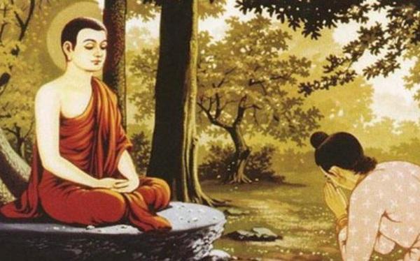 Muốn bố được lên thiên đường, con trai đến tìm Đức Phật rồi được Ngài bảo ra chợ mua 2 thứ