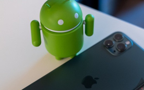 Da co the cai dat Android len iPhone