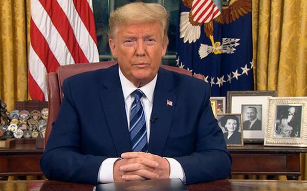 Tổng thống Donald Trump đình chỉ mọi di chuyển từ châu Âu đến Mỹ trong 30 ngày tới