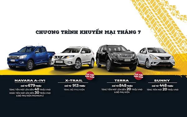 Nissan ưu đãi đặc biệt cho toàn bộ dòng xe đang bán tại Việt Nam trong tháng 7/2020