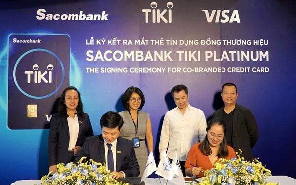 Thẻ tín dụng liên kết giữa Tiki và Sacombank bây giờ ra sao sau gần 2 tháng ra mắt?